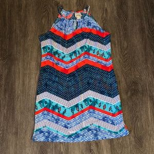 Sweet Storm Swim Cover Dress